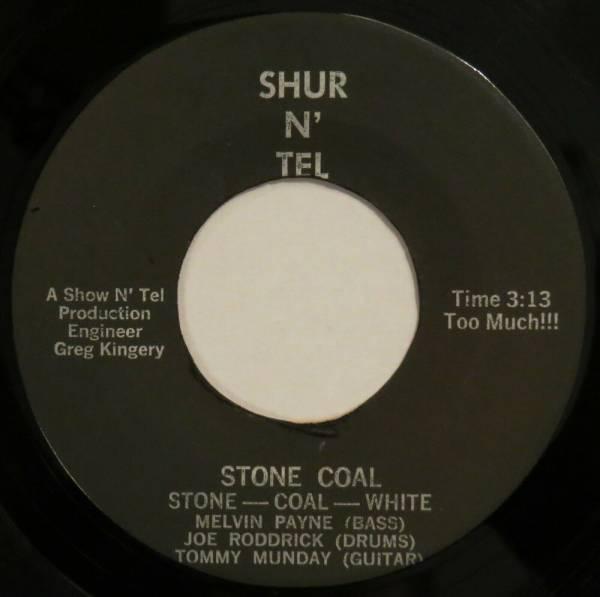 STONE COAL WHITE Stone Coal   You Know SHUR N    TEL 45 soul funk original HEAR