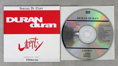 DURAN DURAN LIBERTY TOSHIBA EMI PROMO 1CD
