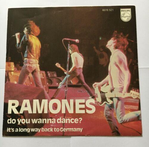 Ramones   Do you Wanna Dance Very Rare Original Dutch 7    P S US Punk Promo