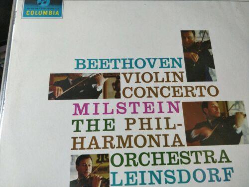 SAX 2508  BEETHOVEN  VIOLIN CONCERTO   NATHAN MILSTEIN B S   12  VINYL RARE LP