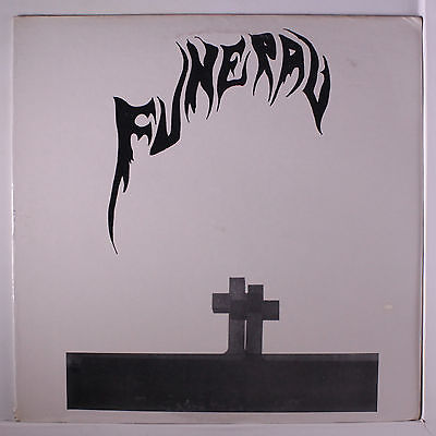 FUNERAL Funeral LP Sealed tiny corner ding rare PunkNew Wave