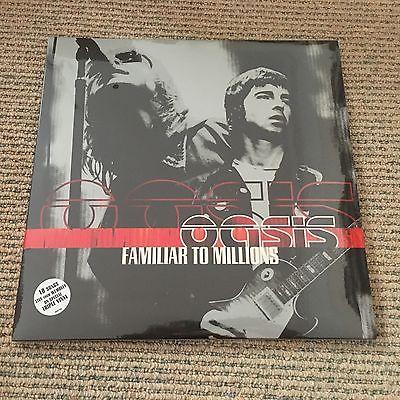 Oasis   Familiar To Millions   Rare original UK triple vinyl LP SEALED