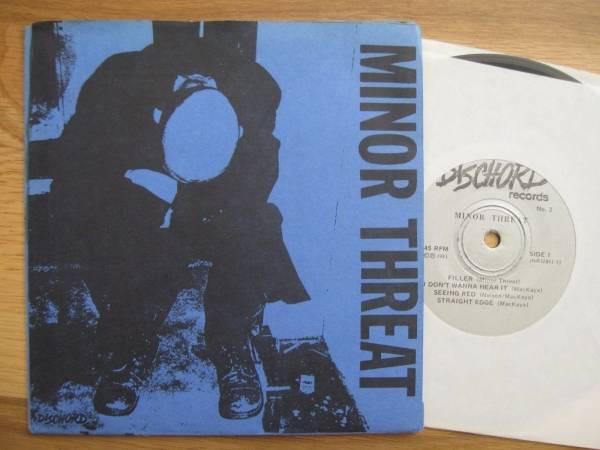 MINOR THREAT S T 7  EP 1981 DC PUNK Hardcore DISCHORD KBD Teen Idles SOA Clean