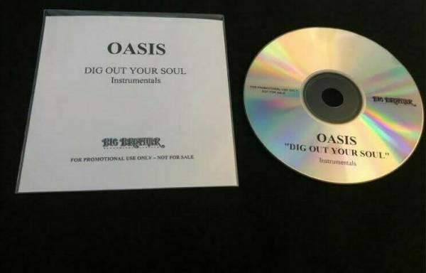 Oasis   Dig Out Your Soul  Instrumentals    Mega Rare Promo CD