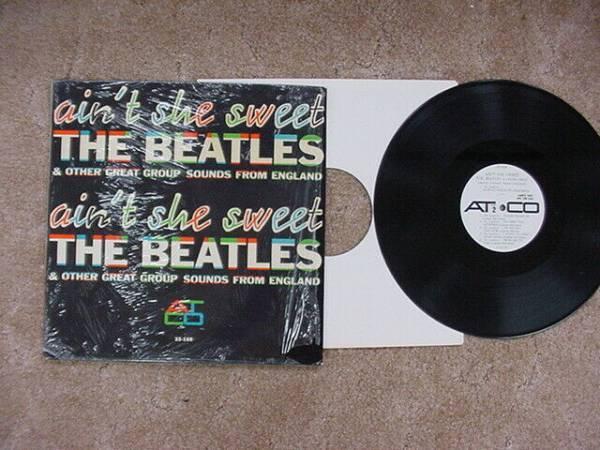 BEATLES ATCO PROMO AIN T SHE SWEET WHITE LABEL ALBUM IN SHRINK WRAP LP 1964