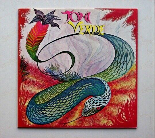 TONI VERDE   Calypso   LP Italian Prog 1977   SAINT JUST  NEAR MINT   RARISSIMO