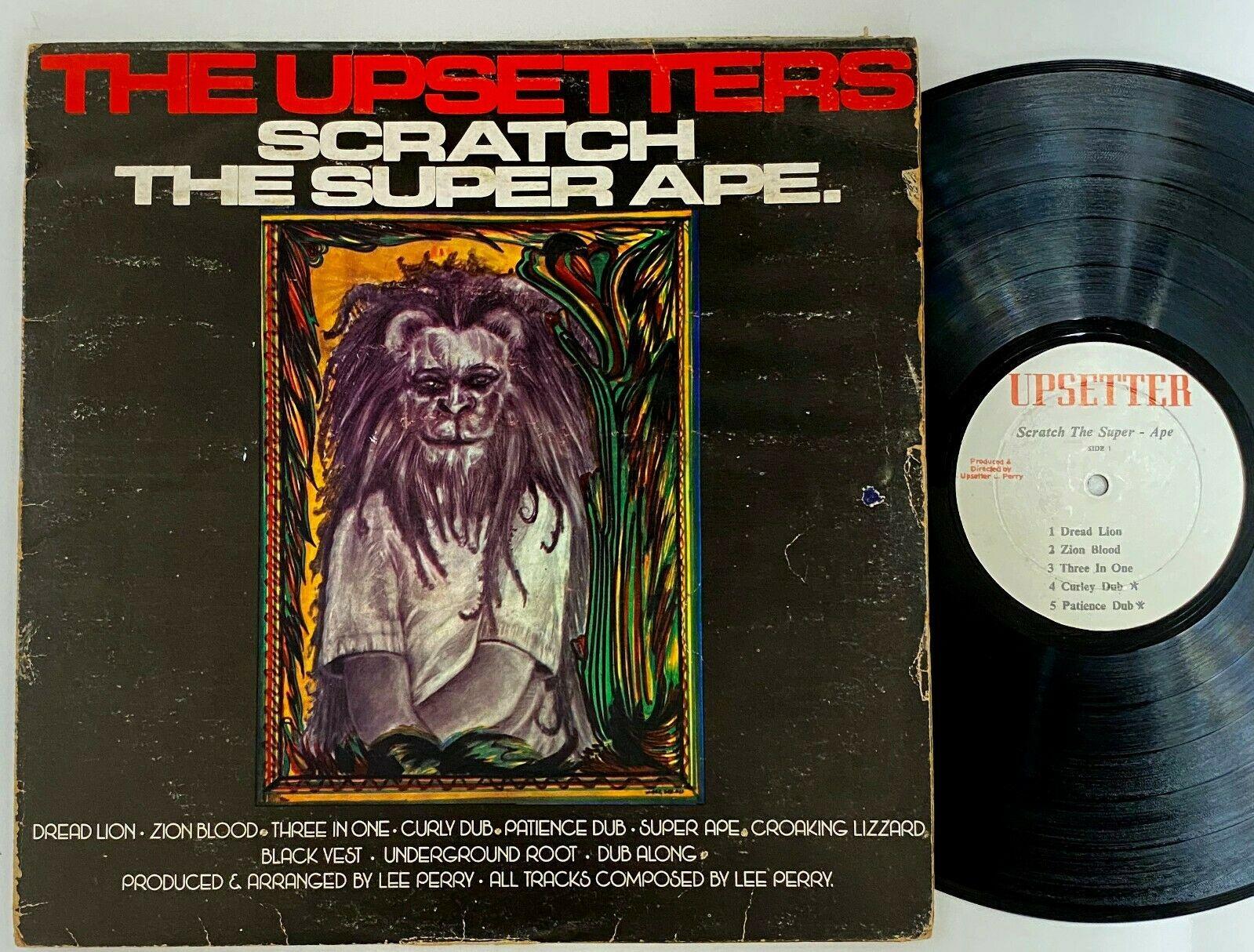 The Upsetters  Scratch The Super Ape  Rare Reggae LP Upsetter