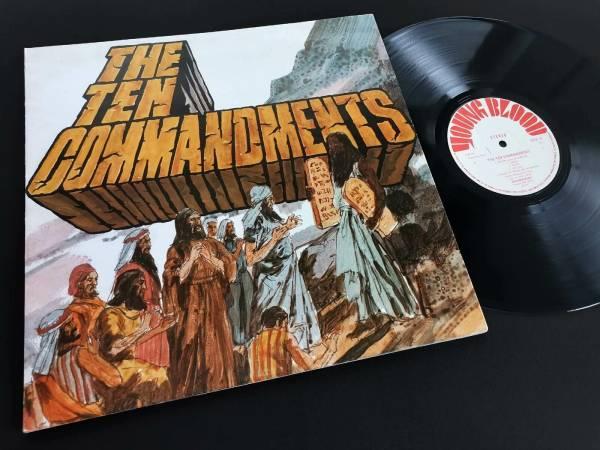 SALAMANDER The Ten Commandments LP UK 71 YOUNGBLOOD 1st Press MINT  Poster Cover