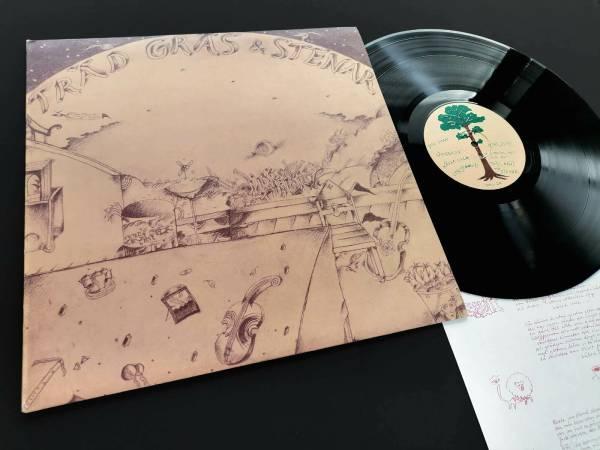 TR  D  GR  S OCH STENAR Mors Mors ULTRA RARE 1st Sweden Press LP 1973 Insert EX
