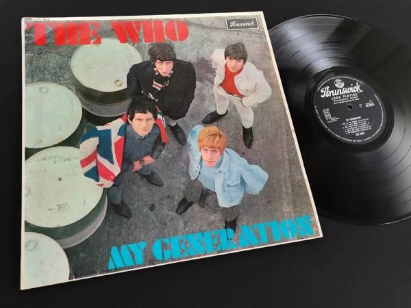 THE WHO My Generation LP 1st UK Press 1965 Brunswick MONO 1B 1B deep groove EX