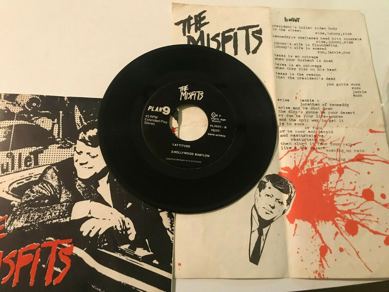 Punk EP Plan 9   Misfits   Bullet   Attitude Hollywood   Babylon  We are 138 45