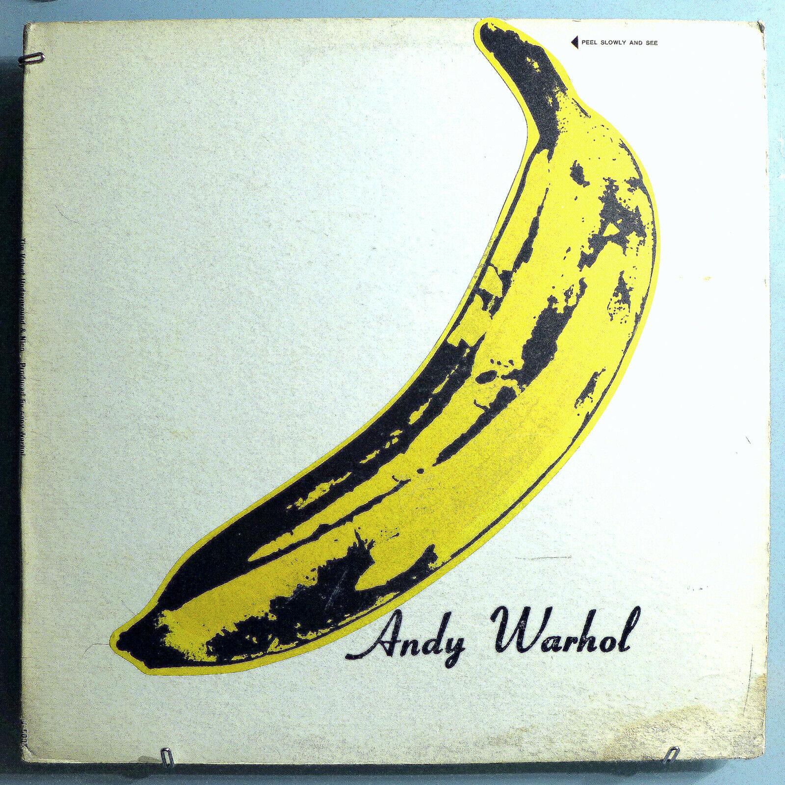 VELVET UNDERGROUND   NICO ANDY WARHOL BANANA RARE ORIG  67 MONO LP w TORSO COVER