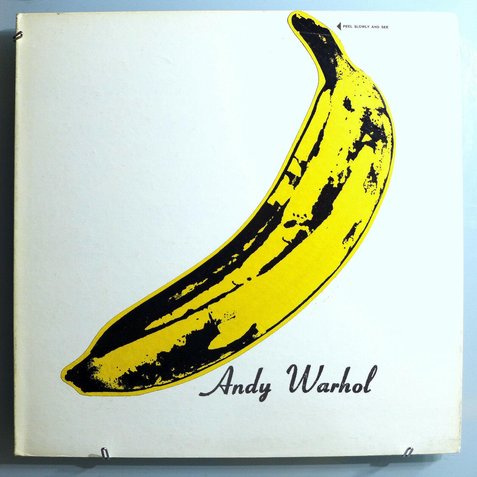 VELVET UNDERGROUND ANDY WARHOL BANANA TORSO INSANELY RARE 67 MONO WHITE PROMO LP