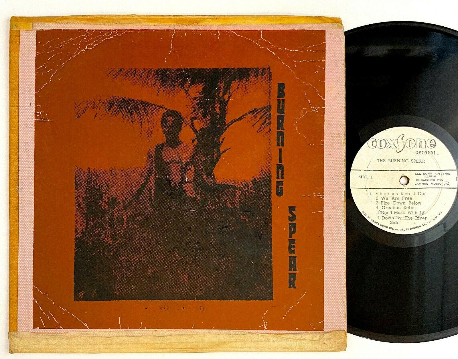 Burning Spear  The Burning Spear  Rare Reggae LP Coxsone Silk Screened