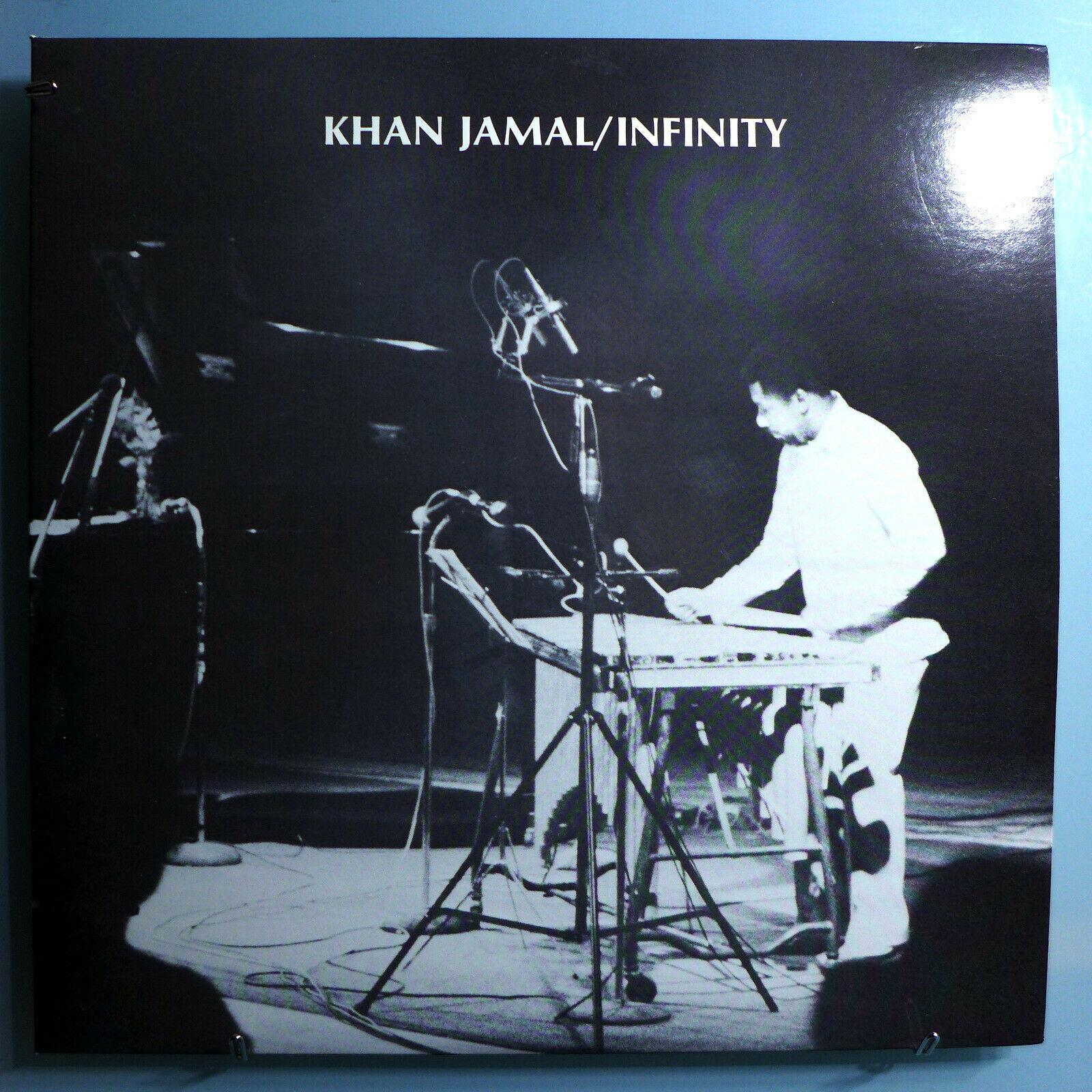 KHAN JAMAL INFINITY ULTRA RARE ORIG 84 PRIVATE PRESSING LP ON JAMBRIO LABEL MINT