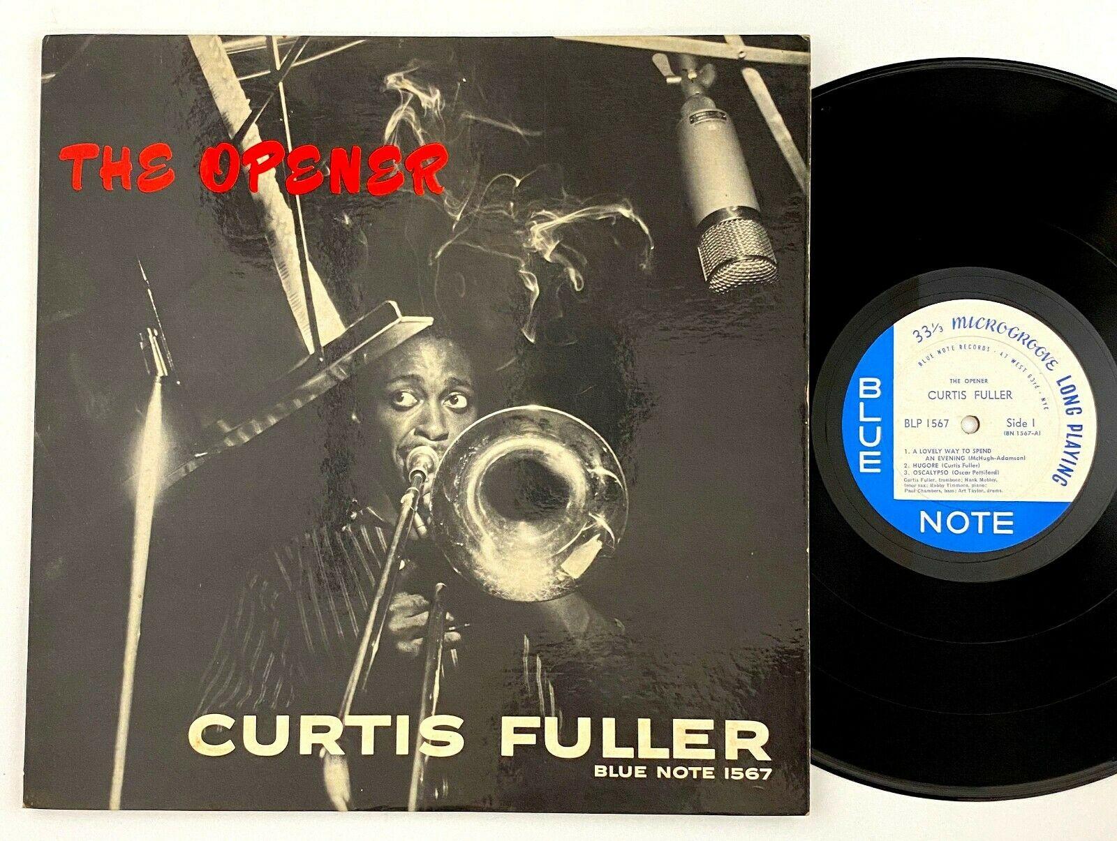 Curtis Fuller  The Opener  LP Blue Note BLP 1567 Mono DG W  63rd