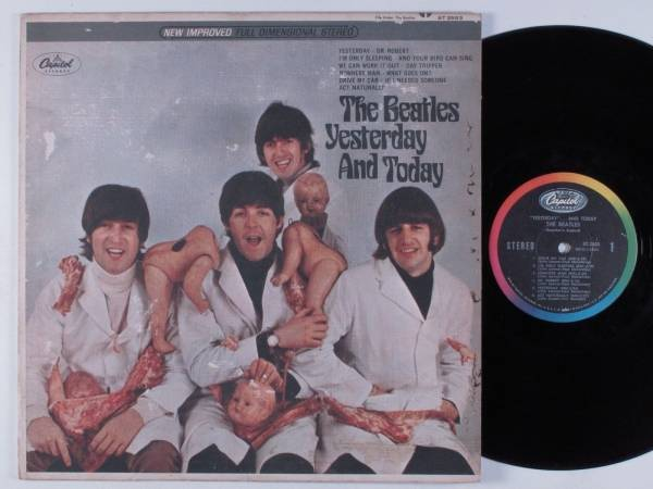 BEATLES Yesterday And Today CAPITOL LP 3rd State Butcher Cover