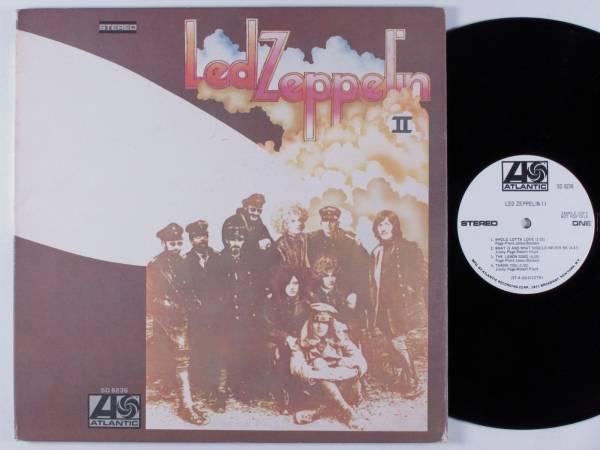 LED ZEPPELIN Led Zeppelin II ATLANTIC SD 8236 LP VG   gatefold wlp
