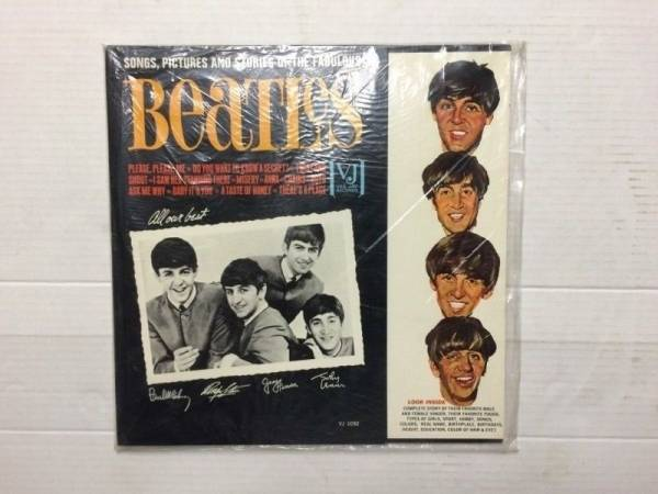 The Beatles Songs  Pictures And Stories Of The Fabulous Beatles Vee Jay Mono LP