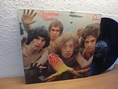 AMBROSE SLADE   Beginnings UK 1st PRESS 1969 Rare Prog Psych LP