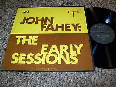 RARE John Fahey  The Early Sessions  1967 Blues LP Blind Joe Death Takoma