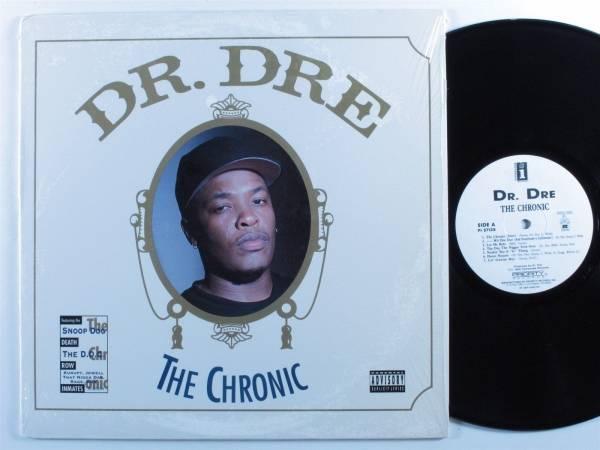 DR  DRE The Chronic INTERSCOPE DEATH ROW LP VG   SHRINK