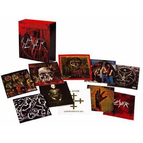 SLAYER   THE VINYL CONFLICT   LTD EDITION   180g  Audiophile Vinyl   11LP Boxset