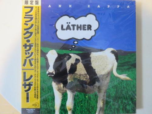 Frank Zappa Lather L ther JAPAN 5 LP BOX Set SEALED NEW VAJK 001 5
