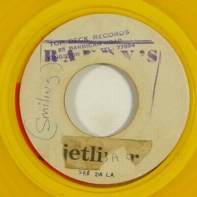 Don Drummond Ferdie Nelson  Reburial  Rare Reggae 45 Top Deck Blank Yellow Vinyl