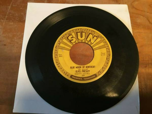 ELVIS PRESLEY  That s All Right  Sun Records  1st   209  RARE ROCKABILLY 45