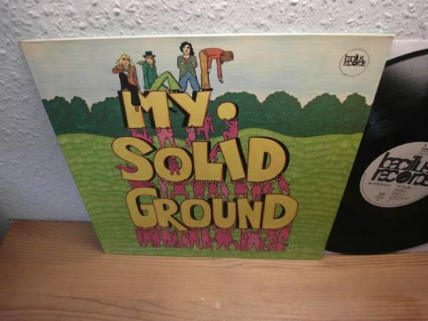 MY SOLID GROUND SAME LP IN 1971 MINT KRAUTROCK TOP HAMMER