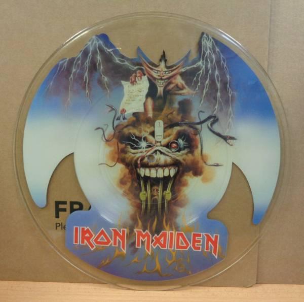 RARE UNCUT PICTURE DISC IRON MAIDEN THE EVIL THAT MEN DO PROWLER 88 EMI 7  EMP64