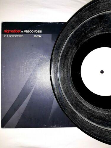 Vasco Rossi  Vinile 12  Remix Sigmatibet Io Ti Accontento  OGGETTO UNICO  Guarda