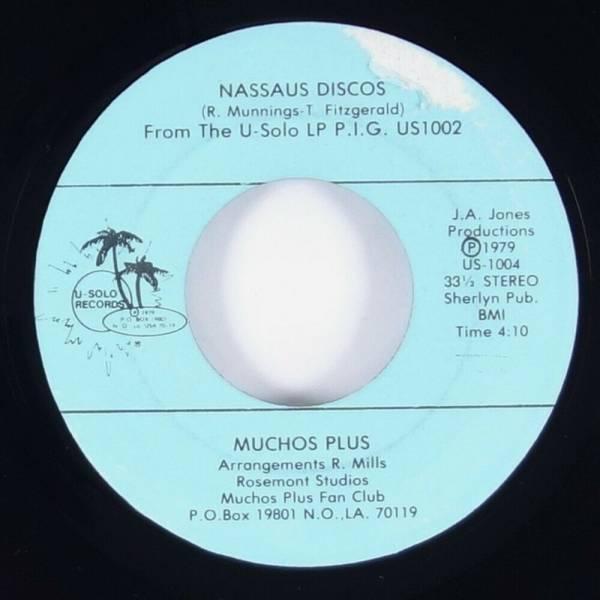 Muchos Plus  Nassaus Discos  Rare Islands Disco Funk Sweet Soul Psych 45 U Solo