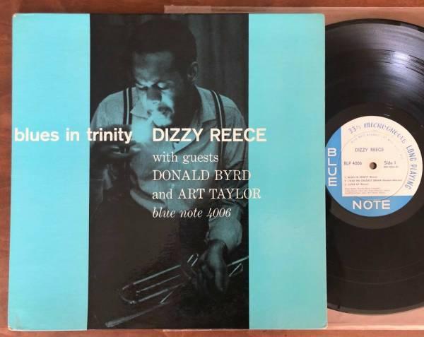 DIZZY REECE BLUES IN TRINITY LP BLP 4006 MONO NY EAR 47 W 63RD DG 59 ORIG RARE
