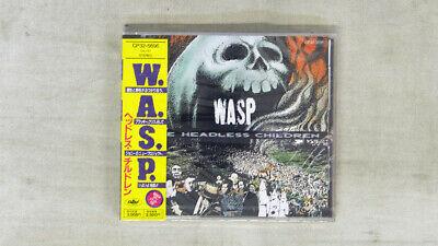W A S P  HEADLESS CHILDREN EMI OBI PROMO 1CD