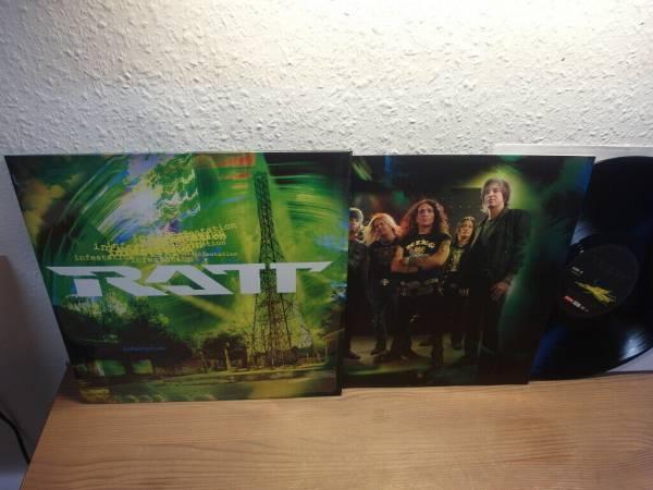 Ratt Infestation Vinyl Lp Mint RARE Roadrunner Records RRCAR 7863 1 German 2010