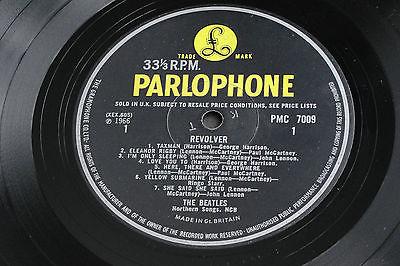 THE BEATLES REVOLVER 1966 UK Original Mono PMC 7009 British Invasion LP EX