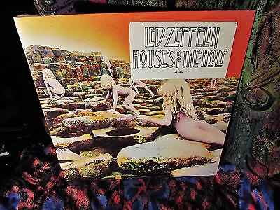 SEALED VINTAGE LP  TITLE STICKER    LED ZEPPELIN   HOLY HOUSES   1973 HARD HEAVY