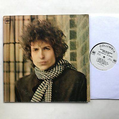Bob Dylan Blonde on Blonde 2 LP VG   VG  Rare Mono White Label Promo