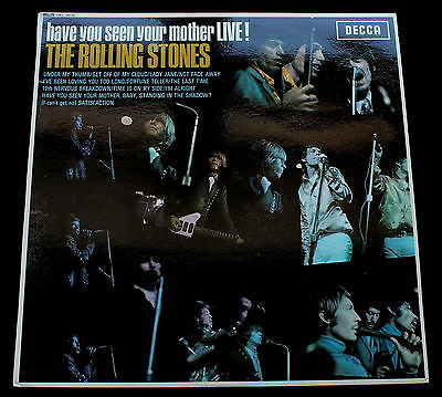 ROLLING STONES Have You Seen Your Mother LiveUK Decca 66 Export MINT LP Psych