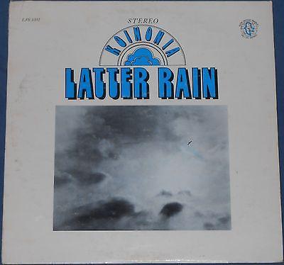 KOINONIA latter rain LP xian PSYCH love Christian 1972 trinity chapel SUPERB
