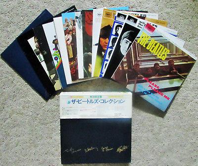 SUPERIOR 13 LP BOX  THE BEATLES   14 DISCS inc  RARITIES  LENNON McCARTNEY Psych