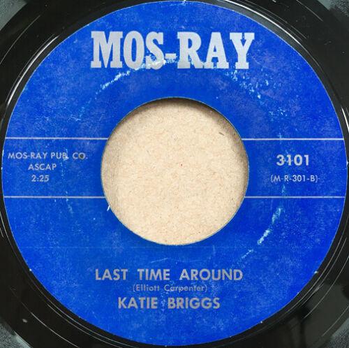 KATIE BRIGGS Last Time Around RARE MOD NORTHERN SOUL FUNK 45 hear