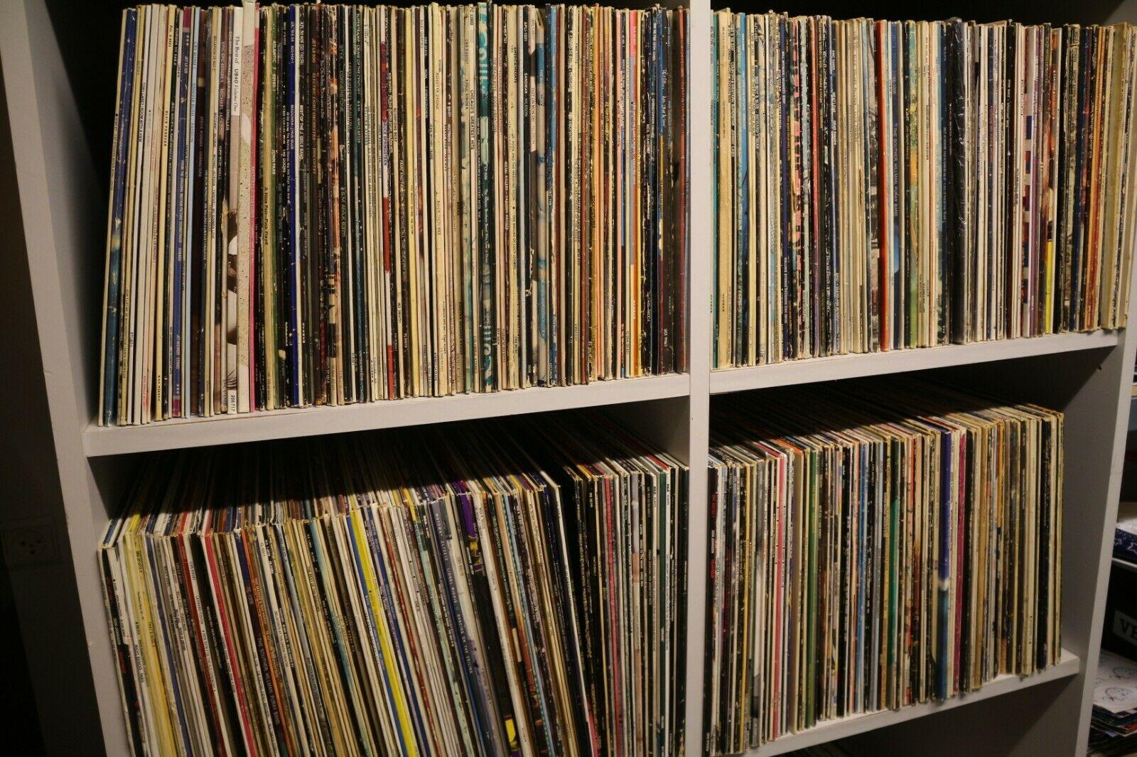 Rock u  Pop Vinyl LP Sammlung der 70 80 90er  800 St  ck     sehr guter Zustand