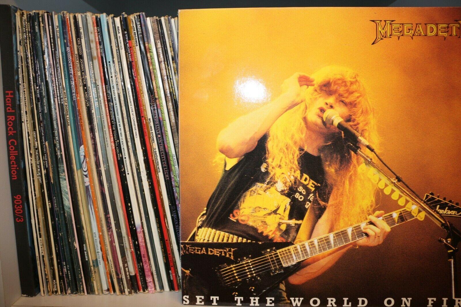Rock Pop Jazz Vinyl LP Sammlung der 80 90er  300 St  ck     sehr guter Zustand