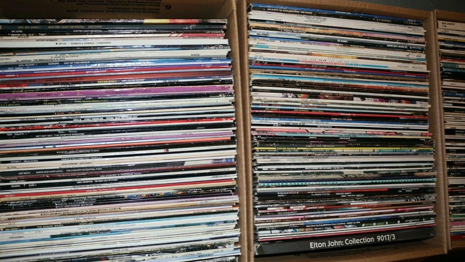 Rock Pop Vinyl LP Sammlung der 80 90er  300 St  ck    sehr guter Zustand