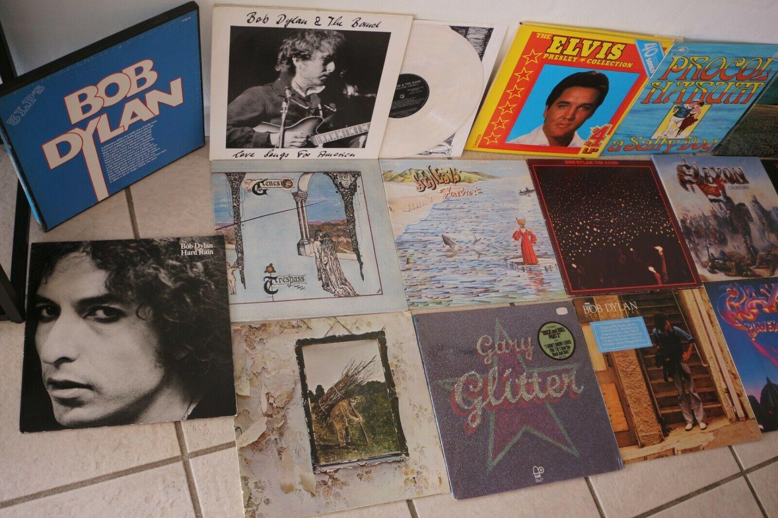 Rock Pop  Vinyl LP Sammlung der 70 80 90er  250 St  ck     sehr guter Zustand