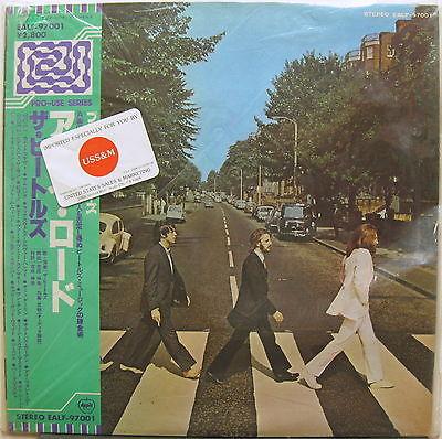 The BEATLES Abbey Road 1978 JAPAN Pro Use AUDIOPHILE LP Half