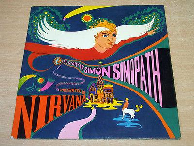 EX EX     Nirvana Story Of Simon Simopath 1967 Island Mono Gatefold LP Pink Eye